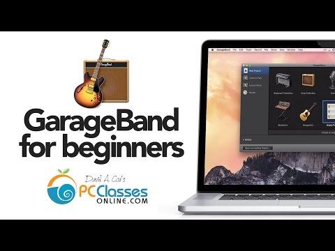 New to Garageband for Beginners