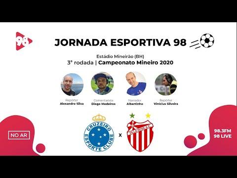 CRUZEIRO X VILLA NOVA | CAMPEONATO MINEIRO | RÁDIO 98FM AO VIVO