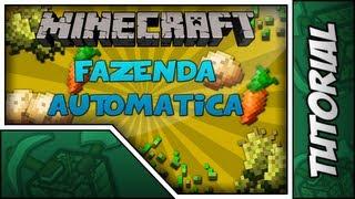 Minecraft Tutorial // Plantação Automatica (Trigo,Cenoura e Batata)