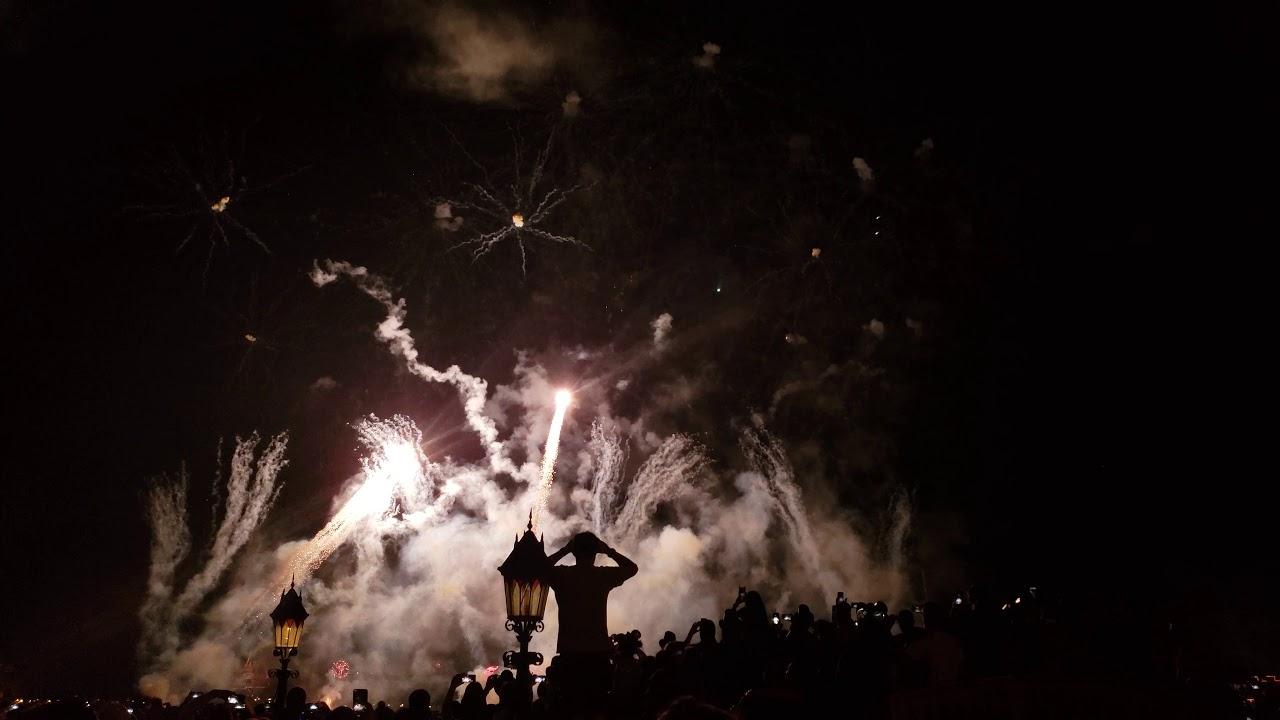 New Year's Eve 2019 Epcot Walt Disney World - YouTube