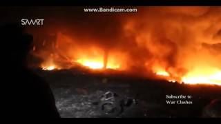 Russia Bombs ISIS (REAL FOOTAGE)- Nov. 22, 2015