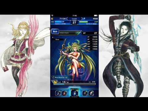 Final Fantasy Brave Exvius Chamber of Crystals event Espers