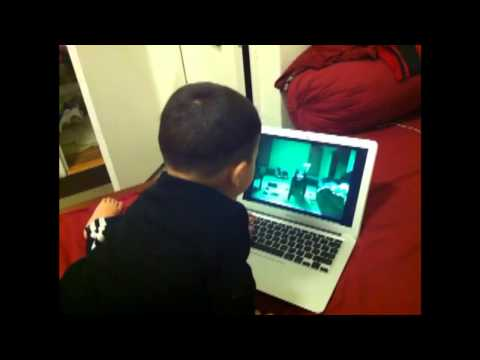 Kids get scared after watching scary pop up videos