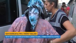 Van ve Erzincan'da 6 PKK'lı terörist etkisiz hale getirildi