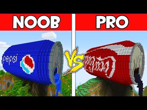 Minecraft - NOOB vs PRO : PEPSI vs COCA COLA in Minecraft ! AVM SHORTS Animation