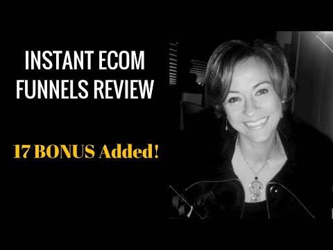 Instant eCom Funnels Review and Demo  17 Instant eCom Funnel Bonuses included. http://bit.ly/30DPdQ3