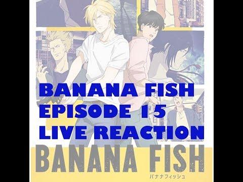 Banana Fish バナナフィッシュ Episode 15 Live Reaction