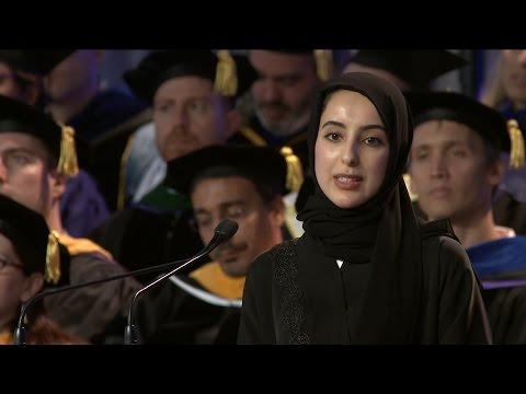 H.E. Shamma Al Mazrui Receives Inaugural Distinguished Alumni Award