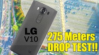 LG V10 Dropped FROM 275 METERS! Did it Survive? (Drop Test)