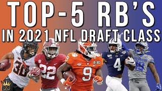 Top-5 Running Backs 2021 NFL Draft | Dynasty Fantasy Football