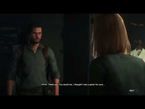 The Evil Within 2 - Chapter 3: Random Event: Save Woman From The Lost & Anima, Dialogue Tree PS4Pro