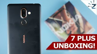 Nokia 7 Plus Unboxing & Hands On Review! 😋