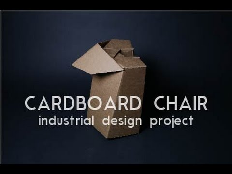 Building a Cardboard Chair: Georgia Tech Industrial Design Project