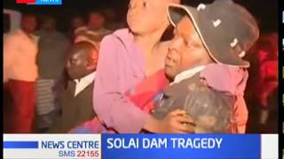 Search and rescue operations continue at the site of the Solai dam tragedy in Nakuru