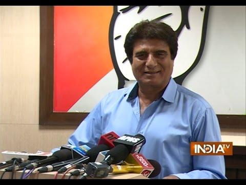Congress Raj Babbar attack on PM Modi | India Tv