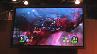 Dungeon Siege 3 Demo at Comic Con NY
