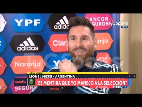 Entrevista completa a Messi
