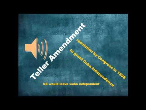 Teller Amendment | Summary of Teller Amendment