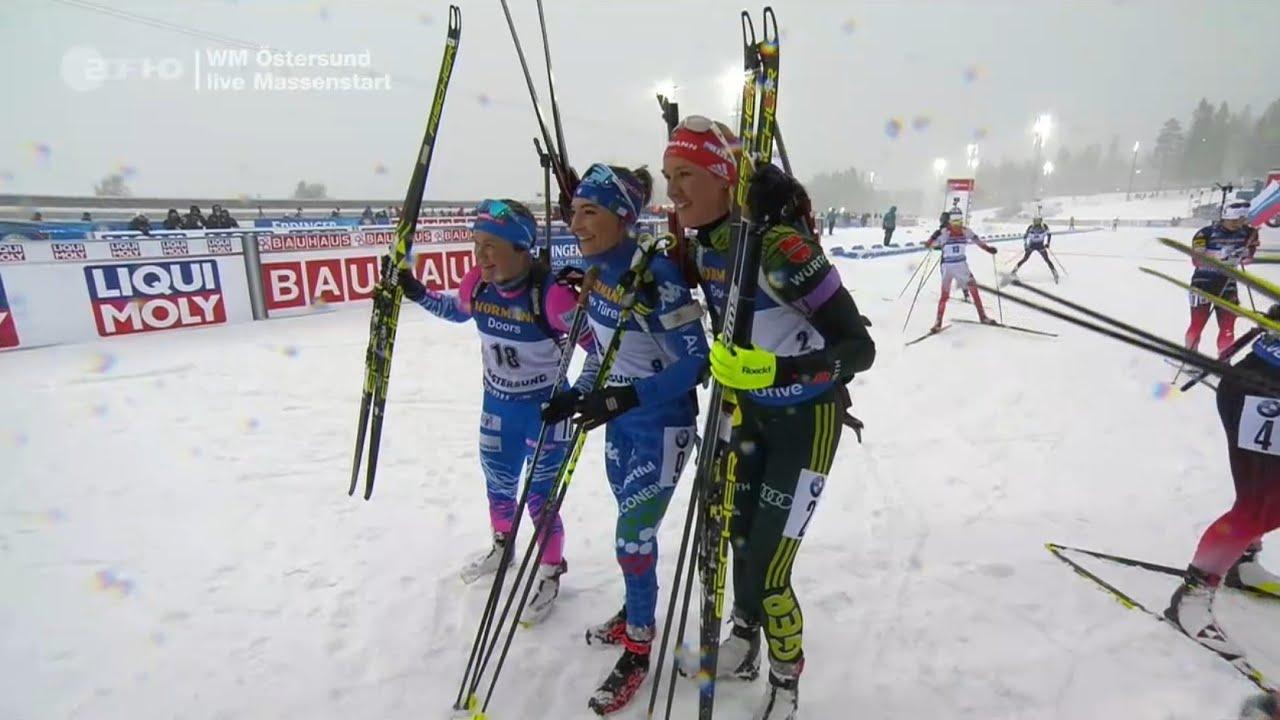 Massenstart Biathlon