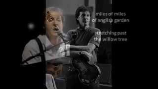Paul McCartney - English Tea - Lyrics