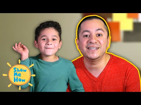 How to Play Simon Says | WITH BLOOPERS! | Show Me How Parent Video