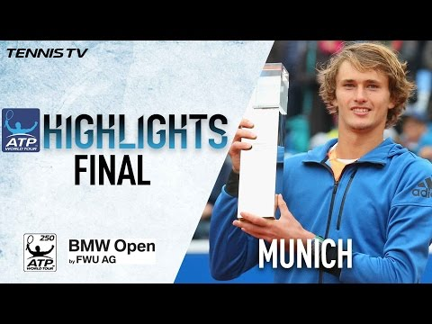 Highlights: Zverev Beats Pella In 2017 Munich Final