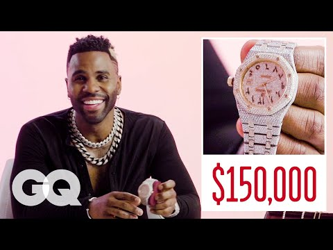 Jason Derulo Shows Off His Insane Jewelry Collection | GQ