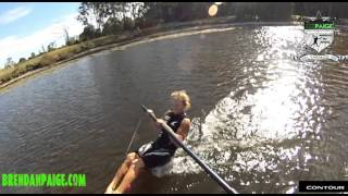 HOW TO BAREFOOT- Deep Water Start off Boom