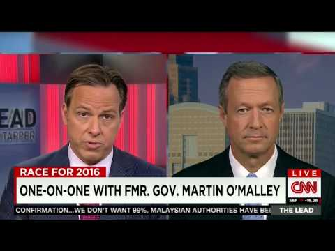 Martin O'Malley: DNC Is Rigging The Democratic Primary For Hillary Clinton With Only 6 Debates - CNN