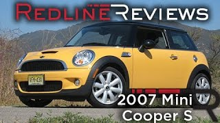 2007 Mini Cooper S Walkaround, Review, Exhaust, Test Drive