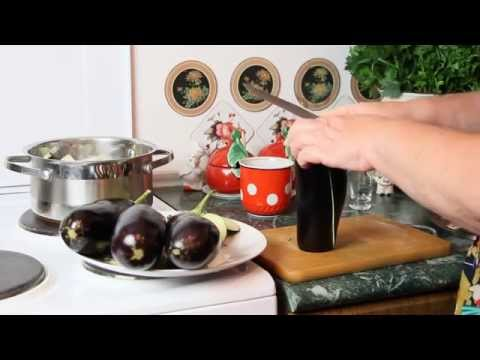 Рецепт закуска из баклажан чесноком