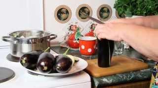 Рецепт закуска из баклажан чесноком(Рецепт закуска из баклажанов с чесноком - очень вкусно! Пробуйте мое блюдо, пишите Ваши отзывы и комментарии., 2015-08-02T06:23:41.000Z)