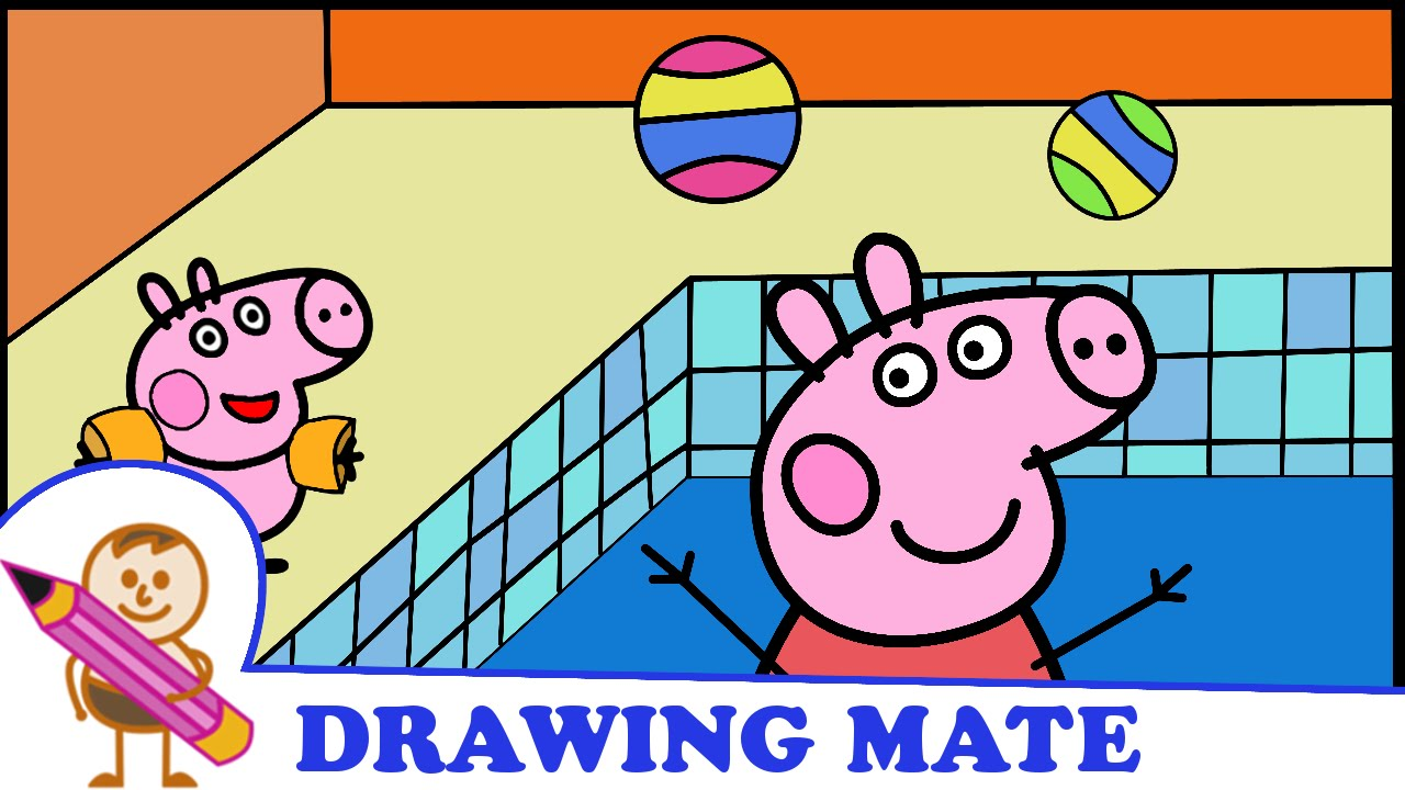 Peppa Pig Coloring Pages Colouring Sheets Swinka Peppa
