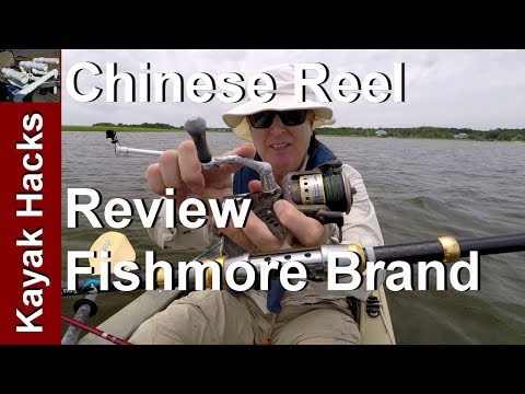Cheap Chinese Fishing Reel Review - Fishmore Spinning Reel - Liveliner or Baitrunner model