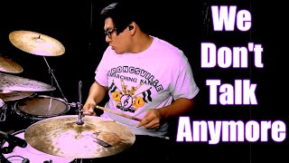 Video We Don't Talk Anymore - Charlie Puth, Selena Gomez Drum Cover (David Cola) download MP3, 3GP, MP4, WEBM, AVI, FLV Januari 2018