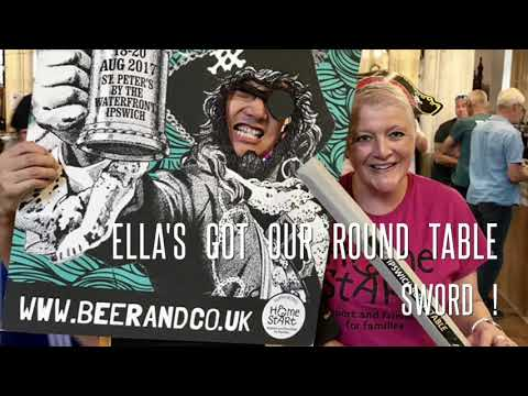 Ipswich Round Table at Maritime Beer Festival for Home Start in Suffolk