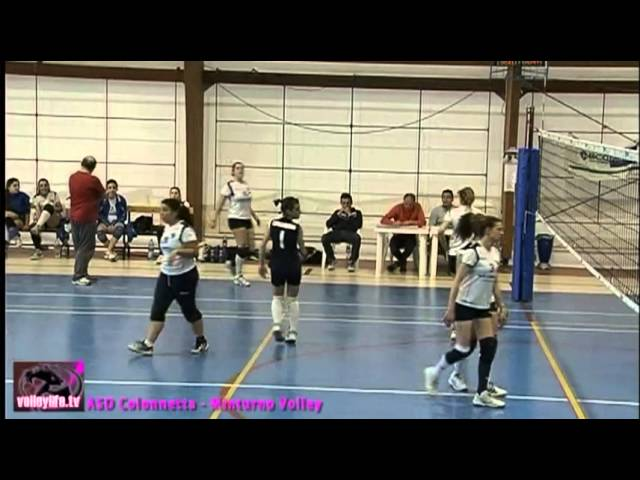 ASD Colonnetta vs Minturno Volley - 2° Set - Playoff II° Div.