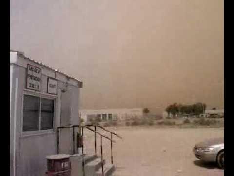 After SandStorm 10/03/2009 (North Riyadh ARAMCO Site Office)