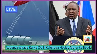 WAR XASAASI AH; Somaliada Waqooyi Barri Kenya Oo Si Adag Uga Hadaly Muranka Badda Somalia Iyo Kenya