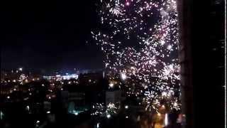 Новогодний салют в Краснодаре 2015(Новый год в Краснодаре., 2014-12-31T21:57:04.000Z)