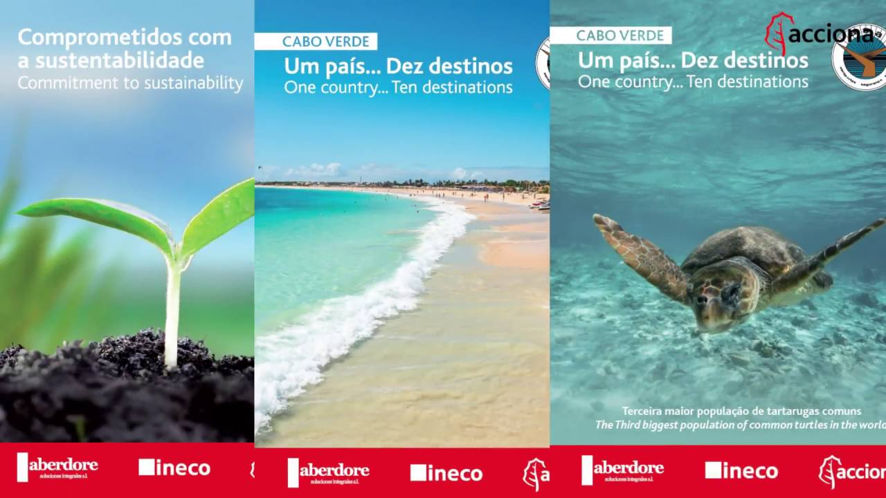 Installing 20 Vinyl Posters at the Sal Island International Airport Terminal in Cape Verde | ACCIONA