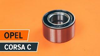 Montering Hjullagersett OPEL CORSA C (F08, F68): gratis video