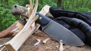 Нож MODEL-1 Lizard Knives. Уличный тест.