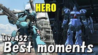 ギャンK、ケンプファー重撃連撃  ガンオン名シーン集Live452より Gundamonline Best moments けんぷファー 検索動画 50