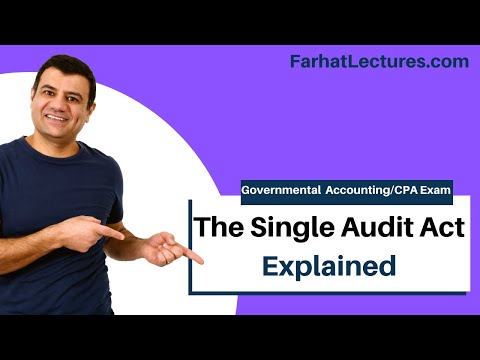 The Single Audit Act of 1984 | Governmental Course | CPA Exam FAR
