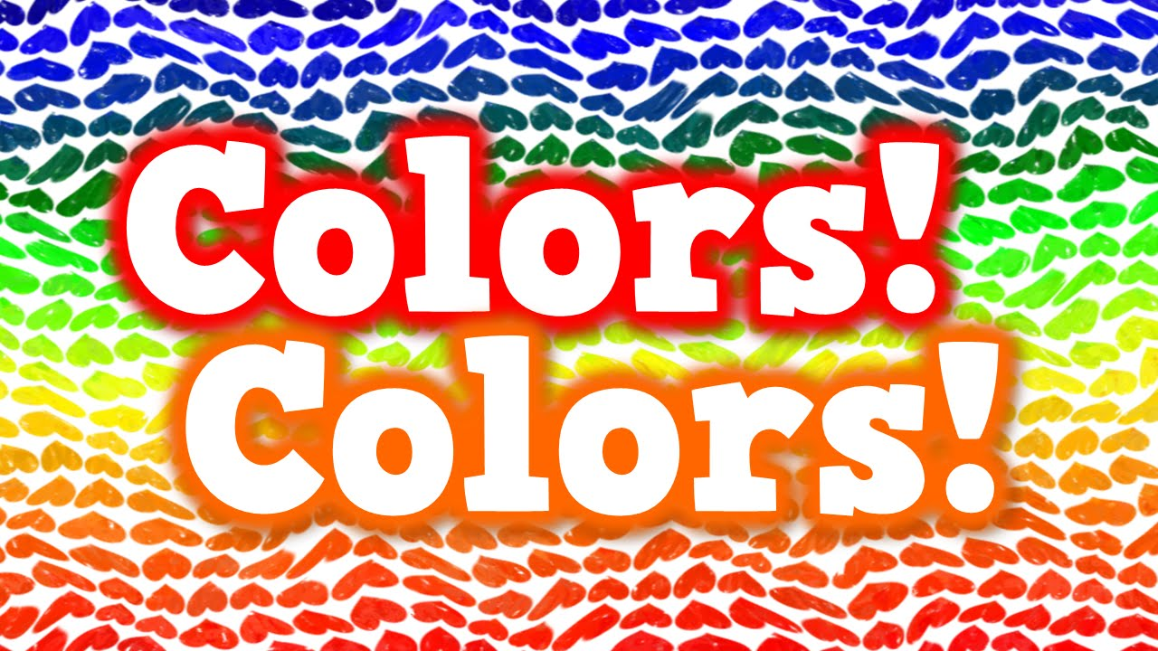 Colors! Colors! (song for kids about basic colors) - YouTube