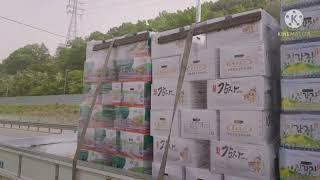 56회.천안-장성,광주-나주:승용패차.감자 운송
