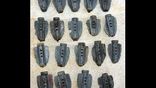 WW2 relic hunt - Mortar fins and fuzes !!