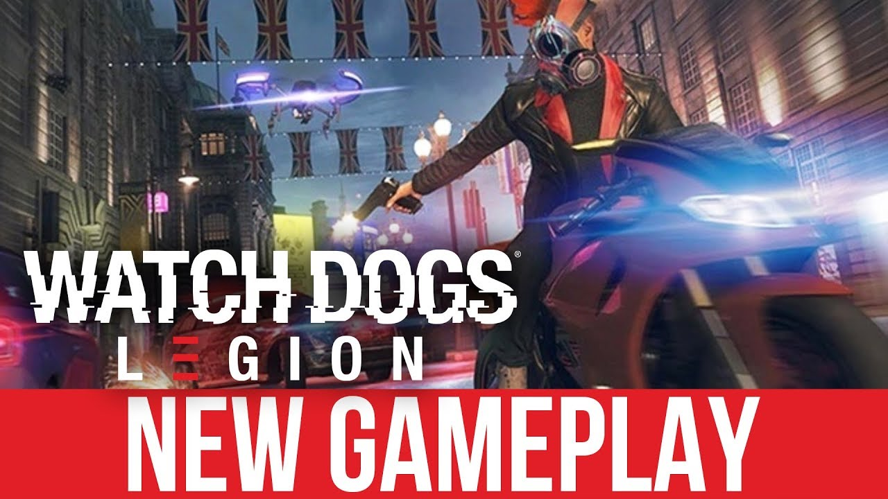 WATCH DOGS LEGION NEUES SPIEL - 30 Minuten (E3 2019) + video
