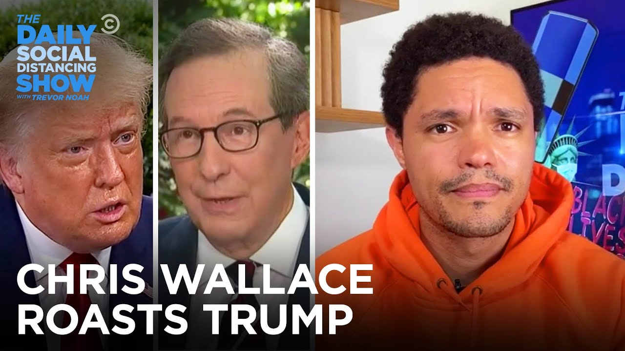 Trump's Brutal Interview with Chris Wallace | The Daily Social Distancing Show